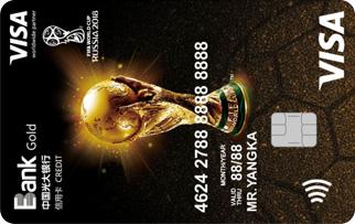 Visa光大世界杯主题信用卡